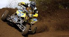 HIGH SPEED DIRT! Suzuki LTR450