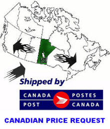 Most Canadian orders ship from Winnipeg, MB