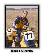 Mark LoScerbo sits on his IRS LT250
