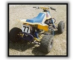 HSD Racing IRS LT250 right rear view