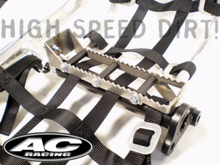 250R AC Racing MX Peg right side view foot peg