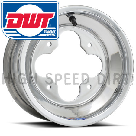 DWT Polished A5 Rim 10x5 3N+2N Front NBL Non Bead Lock 4/110