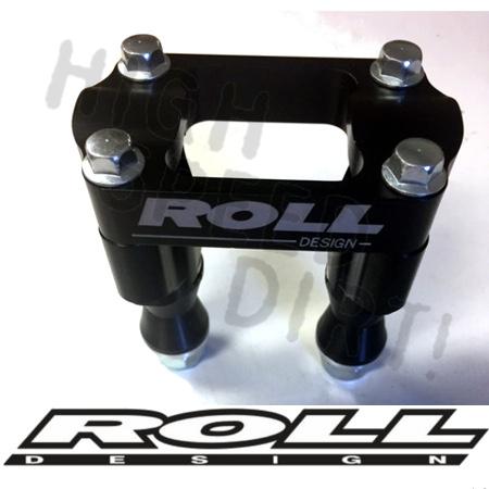 Roll Design Steering Stem Bar Clamp 1-1//8