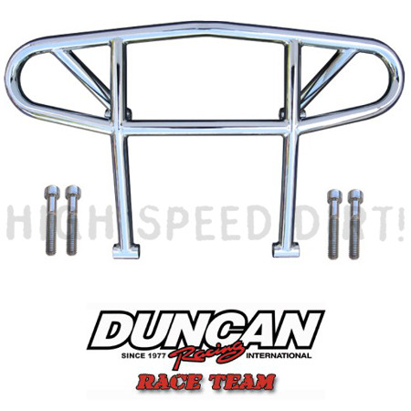 Polaris Outlaw Duncan Racing  Chrome Front Bumpers